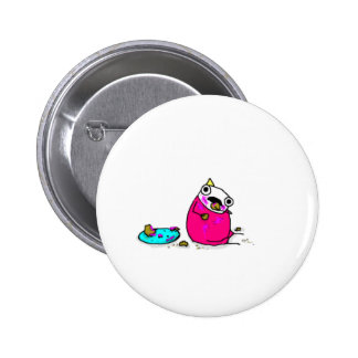 Marshmallow Cake Pinback Button