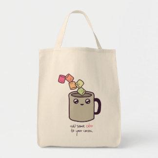 Marshmallow + Cocoa Bag