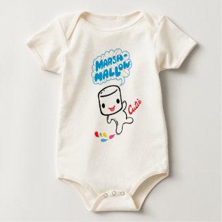 Marshmallow Cutie Baby Bodysuit