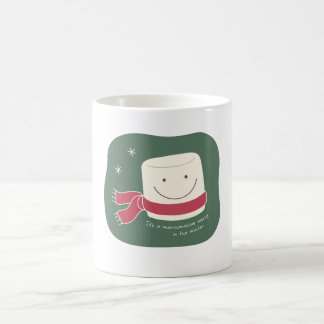 Marshmallow Greetings Mug
