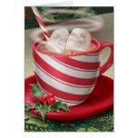 Marshmallow Hot Tub Greeting Card