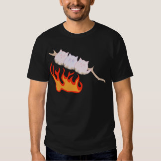 Marshmallow kittens being toasted T-Shirt