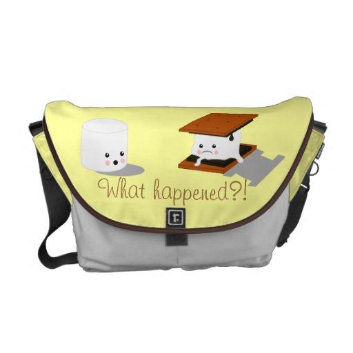 Marshmallow Messenger Bag