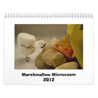 Marshmallow Microcosm 2012 Calendar
