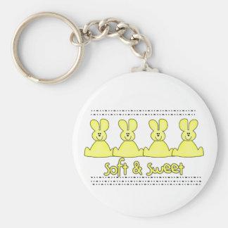 Marshmallow Rabbits Tshirts and Gifts Key Chains