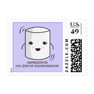 Marshmallow Stamp