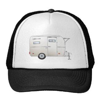 """""""Marshmallow"""" The Boler Travel Trailer Mesh Hat"""