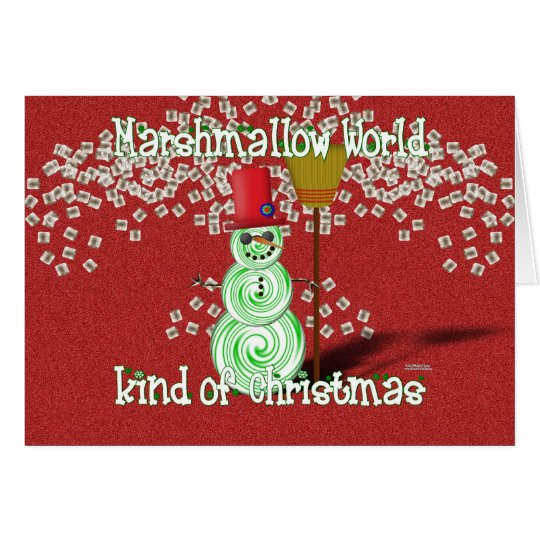 Marshmallow World Kind of Christmas Card
