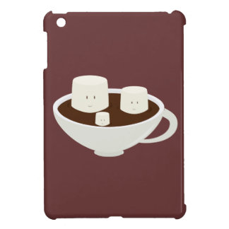 Marshmallows in hot chocolate cover for the iPad mini
