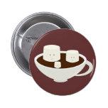 Marshmallows in hot chocolate pin
