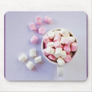 Marshmallows mousepad