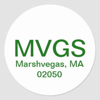 MarshVegas Sticker