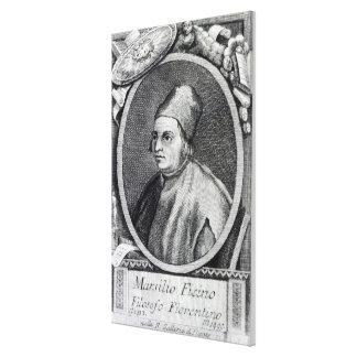 Marsilio Ficino Stretched Canvas Prints