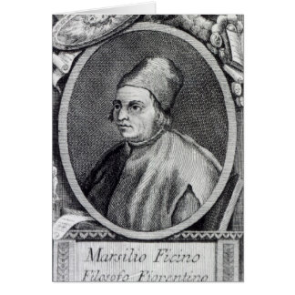 Marsilio Ficino Greeting Cards