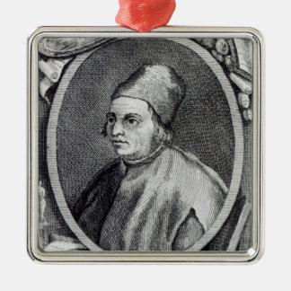 Marsilio Ficino Christmas Ornament