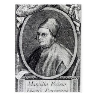 Marsilio Ficino Postcard