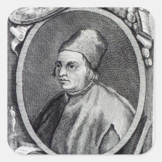 Marsilio Ficino Square Sticker