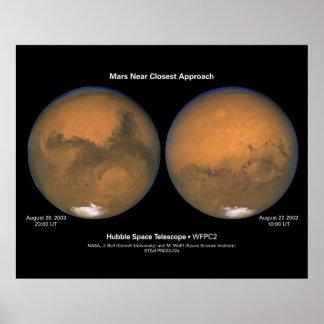 MarsNearClosestApproach-2003-22a Poster
