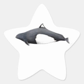 Marsopa de Dall Star Sticker