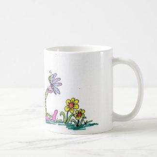 marssy n butterfly classic white coffee mug