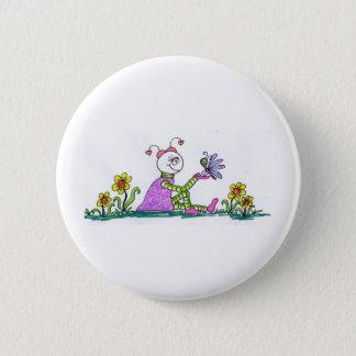 marssy n butterfly pinback button