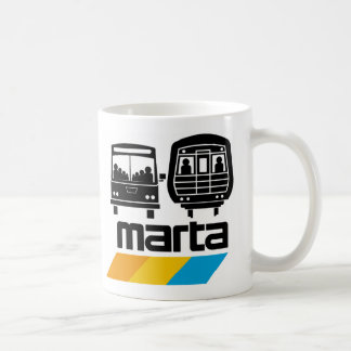 MARTA Bus and Train Coffee Mug