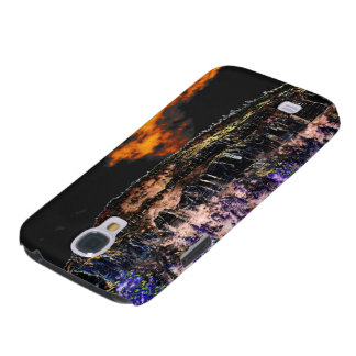 Martain Cliff,Sky,and Treetops by KLM Galaxy S4 Case