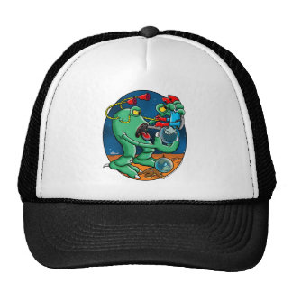 Martain Monster Trucker Hat