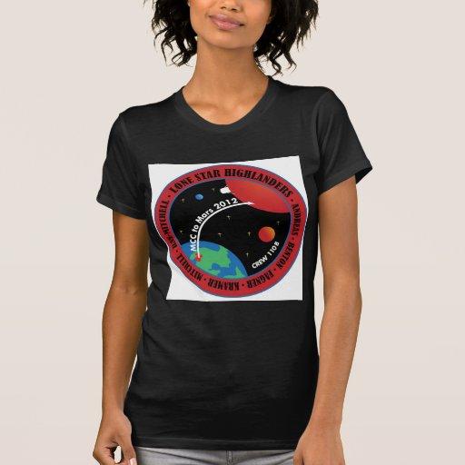 Marte 101 camisetas 2011