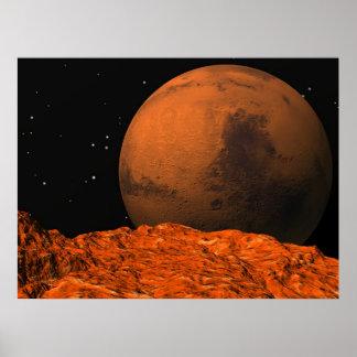Marte de Phobos Póster