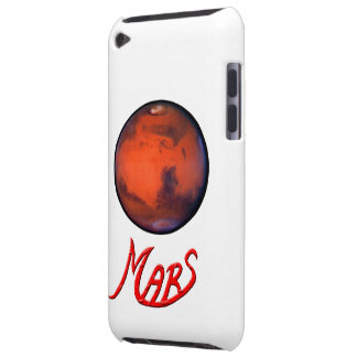 Marte - el planeta rojo - caso del tacto de iPod iPod Touch Cárcasa