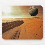 Marte el planeta rojo Mousepad Alfombrillas De Ratones