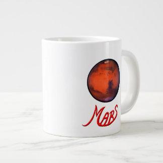 Marte - el planeta rojo - taza enorme (20oz.) taza extra grande