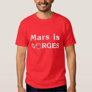 Marte es gargantas playera