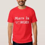 Marte es gargantas remera