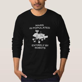 Marte es poblado totalmente por los robots playera