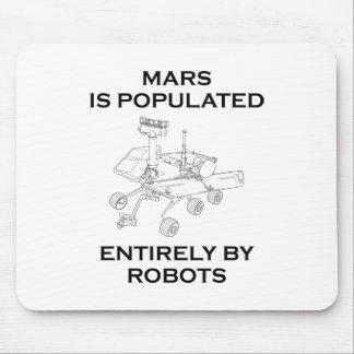 Marte es poblado totalmente por los robots tapetes de raton