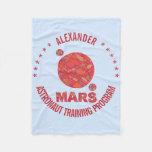 Marte la diversión roja de la Sistema Solar del Manta De Forro Polar