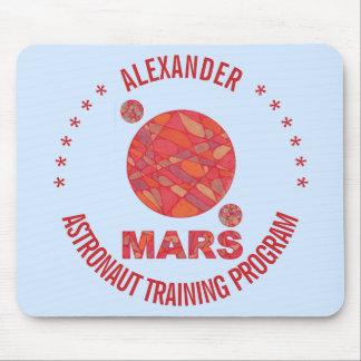 Marte la diversión roja de la Sistema Solar del Mousepad