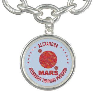 Marte la diversión roja de la Sistema Solar del Pulseras