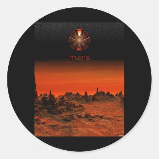 Marte Pegatinas