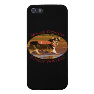 Marte Rover iPhone 5 Protectores