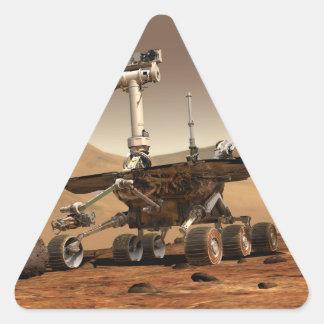 Marte Rover Calcomanías De Trianguloes Personalizadas