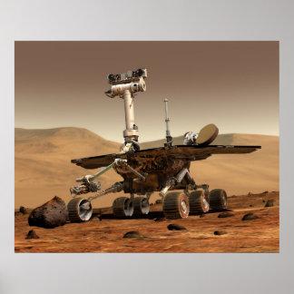 Marte Rover 'Spirit de la NASA Póster