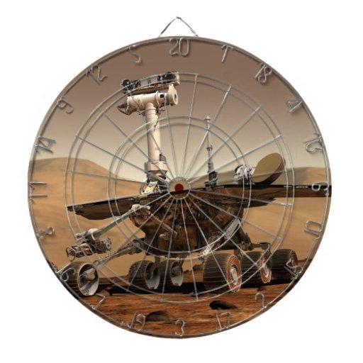 Marte Rover Tablero De Dardos