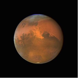 Marte (telescopio de Hubble) Fotoescultura Vertical