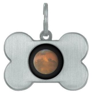 Marte (telescopio de Hubble) Placa Mascota
