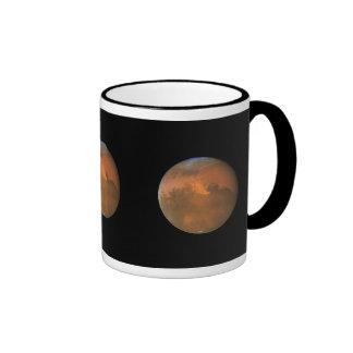 Marte telescopio de Hubble Taza