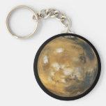 ¡Marte!  Una imagen hermosa del espacio.  NASA Llavero Redondo Tipo Pin