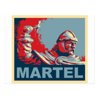 Martel (Hope colors) Postcard